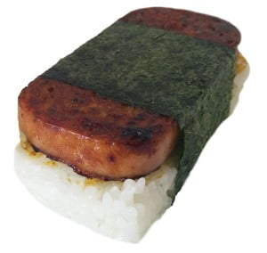Spam Musubi sushi
