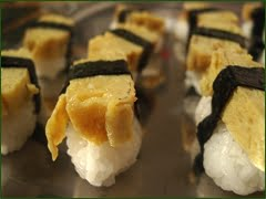 How to make Tamago Sushi [recipe]