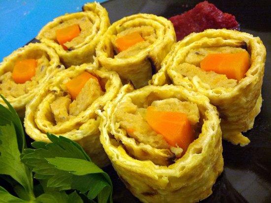 Gefilte Sushi (maki)